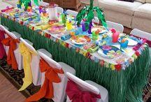 Lilo und Stitch Hawaii party