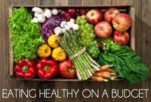 Healthy Ideas on a Budget! / Transitioning or remaining on a healthy diet can be quite costly now a days. Check out these ideas so that your budget doesn't break and stick to your health goals!