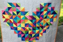 half square triangle quilt ideas