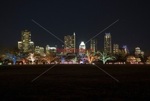 """Zilker Park Trail of Lights / The Zilker Park Trail of Lights has been an Austin tradition since its creation in 1965, when it was titled """"Yule Fest."""" In 1992 the cherished event became Trail of Lights, and the Austin community has embraced the celebration yearly."""