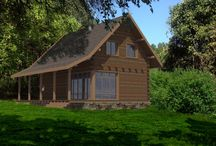 Wooden house / The wooden house is situated in Lozen village located near to Sofia, Bulgaria. Two-storied house. On the first story are situated: living room, dining area and kitchen. Second story: 3 bedrooms with bathrooms. The structure is wooden.