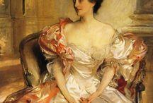 John Singer Sargent portrait / Inspiration