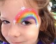 Face painting & crazy hair ideas