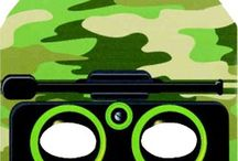 Army / Camoflauge party ideas / army and camouflage party hints & ideas