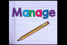 Manage / A Collection of Pins Centered Around Classroom Management