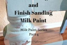 Milk Paint Goodies / A collection of home decor projects that have been brushed with Milk Paint and given a new lease on life.
