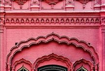 Dizajn rúžovej farby