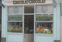 Chocolade winkel