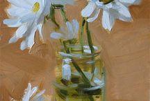 flower paintings