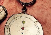 bijoux poterie / bijoux