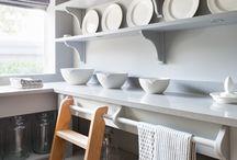 Pantries,  Shelves and Storage