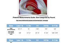 Premature/Angel baby patterns