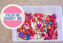 Busy Bins / Sensory Bins / by Megan Simmons