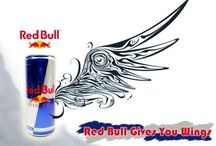 INVC-Up is down (Red bull) / The point of this board is to research red bull advertisements so that I can create a advertising photograph that has an opposite approach to how it is usually advertised.