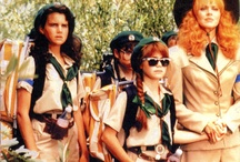 Troop Beverly Hills  / Mardi Gras 2012, Troop Beverly Hills was the easiest group costume because we found the same dress from mod cloth and just added green accessories. I really wish we have girl scout cookies! oh well!