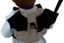 Safe Baby Harness Toddler Kids Bag Safety Child Bat Man Boy Back Pack Strap Rein