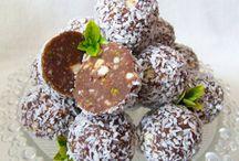 biluțe de ciocolata și cocos