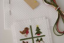 Ponto cruz - Natal