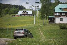 Forester a sjezdovka / Letní výzva pro Subaru :)