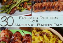 The Best of Bacon / by Once A Month Meals