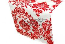 Patterned Table Runners for Hire