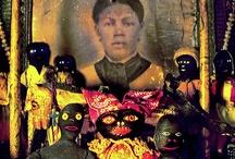 Voodoo Altar / Documenting eclectic postmodern spirituality practice in urban community