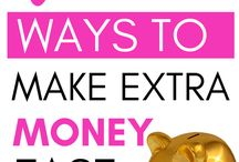 Side Hustle Tips & Ideas / side hustle, make extra money, ways to make extra money, work from home, things to sell to make extra money fast, make money online fast from home, ways to earn extra money #extramoneyideas #makemoneyfromhome #makemoneyonline