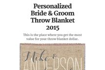 Personalized Throw Blankets / by JD_Sanders