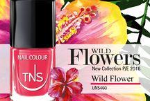 Wild Flowers Collection / Un bouquet coloratissimo, un mazzo di fiori appena sbocciati dai toni vivaci e luminosi, una selezione attenta ed esclusiva tra le nuance che animeranno le nuove collezioni moda per la prossima primavera.