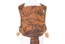 Fidella baby wrap -Dancing leaves autumn sunset- Inspirations