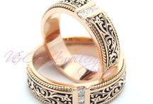 wedding ring Batik d'sign / Cuctom now at V&Co Jewellery