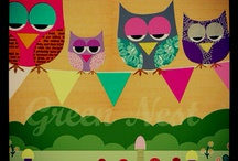 Love Me Some Owls / by Brandi Howland