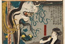 Yokai, oni, yurei / Japanese monsters and ghosts.