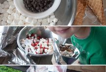 Kid-Friendly Food Ideas / Food made for kids or with kids.