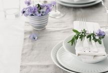 Table Setting / Various ideas - from simple to complex - of the table setting