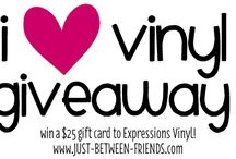 Giveaways / by Expressions Vinyl