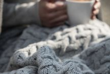 It's time to cosy up / The colder months have arrived. It's time to hibernate and cosy up - in style, of course.