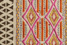 bordados y texturas