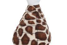 Fat Cat Zoobilee Mighty Meaties Giraffe Dog Toy