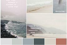moodboard og farger