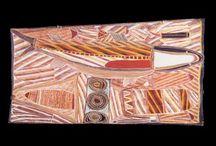 MUSEE DES CONFLUENCES - OEUVRES / Découvrez les oeuvres d'art aborigène des collections du Musée des Confluences à Lyon !