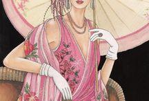 Vintage & glamour / Imágenes del siglo pasado que me gustan y me parecen glamourosas.