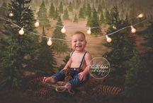 Rustic Pine Inspiration / #heidihopebackdrop