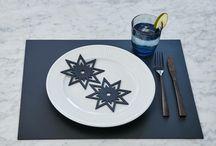 Borddækning / Pynt bordet op til festlige lejligheder med dansk design fra Upcoming designere