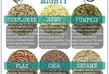 Nutrition / Healthy superfoods, healthy living