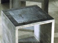 concrete end tables