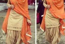 my Punjabi suit collection
