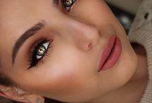 Beauty <3 / Zbiór stylizacji z użycie sztucznych rzęs. (Makeup inspirations, Amazing Eyes Makeup with long eyelashes)