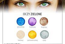 makijaz oczy