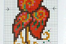 cross stitch current project